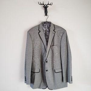 Van Heusen Black and White Check Jacket.